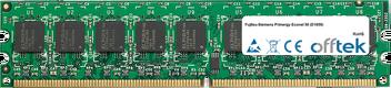 Primergy Econel 50 (D1859) 1GB Modul - 240 Pin 1.8v DDR2 PC2-4200 ECC Dimm (Dual Rank)