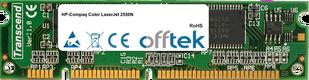 Color LaserJet 2550N 128MB Modul - 100 Pin 3.3v SDRAM PC100 SoDimm