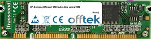 OfficeJet 9100 All-in-One Serie 9110 128MB Modul - 100 Pin 3.3v SDRAM PC100 SoDimm