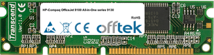OfficeJet 9100 All-in-One Serie 9130 128MB Modul - 100 Pin 3.3v SDRAM PC100 SoDimm