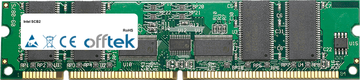 SCB2 1GB Modul - 168 Pin 3.3v PC133 ECC Registered SDRAM Dimm