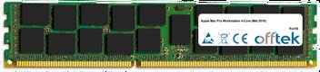 Mac Pro Workstation 4-Core (Mid 2010) 8GB Modul - 240 Pin 1.5v DDR3 PC3-8500 ECC Registered Dimm (Dual Rank)