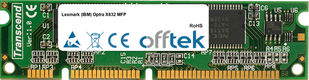 Optra X632 MFP 128MB Modul - 100 Pin 3.3v SDRAM PC100 SoDimm