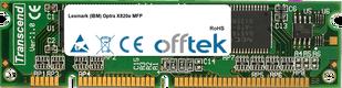 Optra X820e MFP 128MB Modul - 100 Pin 3.3v SDRAM PC100 SoDimm
