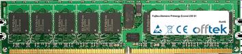 Primergy Econel 230 S1 4GB Satz (2x2GB Module) - 240 Pin 1.8v DDR2 PC2-5300 ECC Registered Dimm (Single Rank)