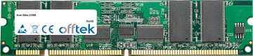 Altos 21000 256MB Modul - 168 Pin 3.3v PC100 ECC Registered SDRAM Dimm