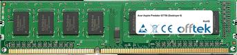Aspire Predator G7750 (Destroyer II) 2GB Modul - 240 Pin 1.5v DDR3 PC3-10664 Non-ECC Dimm