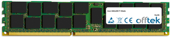 AB2x280 F1 Blade 16GB Modul - 240 Pin 1.5v DDR3 PC3-8500 ECC Registered Dimm (Quad Rank)
