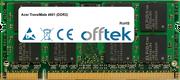 TravelMate 4601 (DDR2) 1GB Modul - 200 Pin 1.8v DDR2 PC2-4200 SoDimm