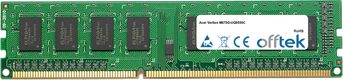 Veriton M670G-UQ9550C 2GB Modul - 240 Pin 1.5v DDR3 PC3-8500 Non-ECC Dimm