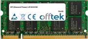 LR100-N16D 1GB Modul - 200 Pin 1.8v DDR2 PC2-5300 SoDimm