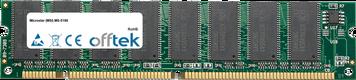 MS-5186 256MB Modul - 168 Pin 3.3v PC100 SDRAM Dimm