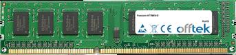 H77MXV-D 8GB Modul - 240 Pin 1.5v DDR3 PC3-10600 Non-ECC Dimm
