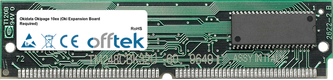 Okipage 10ex (Oki Expansion Board Required) 32MB Modul - 72 Pin 5v FPM Non-Parity Simm