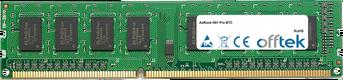 H61 Pro BTC 8GB Modul - 240 Pin 1.5v DDR3 PC3-12800 Non-ECC Dimm