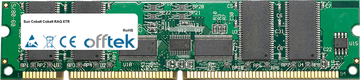 Cobalt RAQ XTR 512MB Modul - 168 Pin 3.3v PC133 ECC Registered SDRAM Dimm