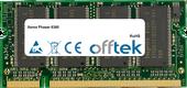 Phaser 6360 512MB Modul - 200 Pin 2.5v DDR PC333 SoDimm