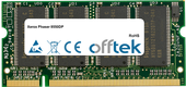 Phaser 8550DP 512MB Modul - 200 Pin 2.5v DDR PC333 SoDimm