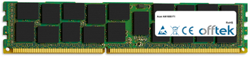 AN1600 F1 8GB Modul - 240 Pin 1.5v DDR3 PC3-12800 ECC Registered Dimm (Dual Rank)