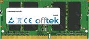 Alpha R2 16GB Modul - 260 Pin 1.2v DDR4 PC4-17000 SoDimm