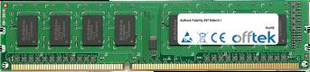 Fatal1ty Z97 Killer/3.1 8GB Modul - 240 Pin 1.5v DDR3 PC3-12800 Non-ECC Dimm