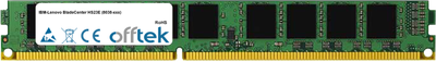 BladeCenter HS23E (8038-xxx) 16GB Modul - 240 Pin 1.5v DDR3 PC3-10664 ECC Registered Dimm (VLP)