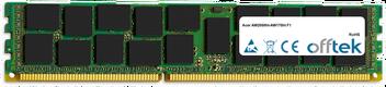 AW2000ht-AW170ht F1 16GB Modul - 240 Pin 1.5v DDR3 PC3-10600 ECC Registered Dimm (Quad Rank)