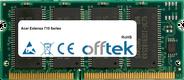Extensa 710 Serie 128MB Modul - 144 Pin 3.3v PC66 SDRAM SoDimm