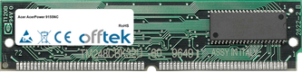 AcerPower 9155NC 64MB Satz (2x32MB Module) - 72 Pin 5v EDO Non-Parity Simm