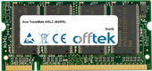 TravelMate 435LC (i845PE) 512MB Modul - 200 Pin 2.5v DDR PC266 SoDimm