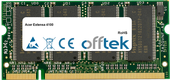 Extensa 4100 1GB Modul - 200 Pin 2.5v DDR PC333 SoDimm