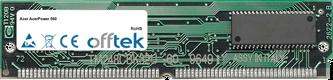 AcerPower 560 32MB Satz (2x16MB Module) - 72 Pin 5v EDO Non-Parity Simm