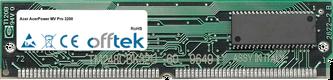 AcerPower MV Pro 3200 64MB Satz (2x32MB Module) - 72 Pin 5v EDO Non-Parity Simm