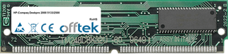 Deskpro 2000 5133/2500 16MB Satz (2x8MB Module) - 72 Pin 5v EDO Non-Parity Simm