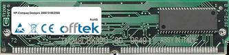 Deskpro 2000 5166/2500 16MB Satz (2x8MB Module) - 72 Pin 5v EDO Non-Parity Simm