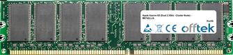 Xserve G5 (Dual 2.3Ghz - Cluster Node) - M9742LL/A 1GB Satz (2x512MB Module) - 184 Pin 2.6v DDR400 Non-ECC Dimm