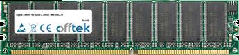 Xserve G5 (Dual 2.3Ghz) - M9745LL/A 2GB Satz (2x1GB Module) - 184 Pin 2.6v DDR400 ECC Dimm (Dual Rank)