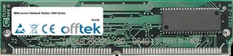 Network Station 1000 Serie 64MB Satz (2x32MB Module) - 72 Pin 5v EDO Non-Parity Simm
