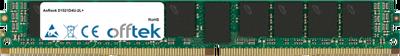 D1521D4U-2L+ 16GB Modul - 288 Pin 1.2v DDR4 PC4-19200 ECC Registered Dimm (VLP)