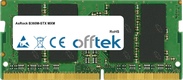 B360M-STX MXM 16GB Modul - 260 Pin 1.2v DDR4 PC4-21300 SoDimm