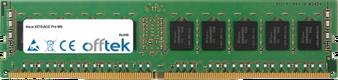 X570-ACE Pro WS 16GB Modul - 288 Pin 1.2v DDR4 PC4-21300 ECC Dimm