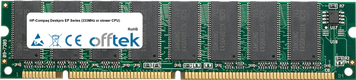 Deskpro EP Serie (333MHz Or Slower CPU) 128MB Modul - 168 Pin 3.3v PC100 SDRAM Dimm