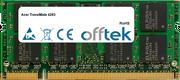 TravelMate 4283 2GB Modul - 200 Pin 1.8v DDR2 PC2-5300 SoDimm