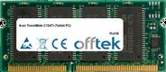 TravelMate C104Ti (Tablet PC) 128MB Modul - 144 Pin 3.3v PC133 SDRAM SoDimm