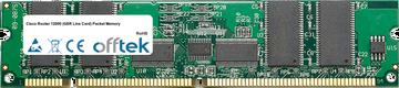 Router 12000 (GSR Line Karte) Packet Memory 512MB Satz (4x128MB Module) - 168 Pin 3.3v PC133 ECC Registered SDRAM Dimm