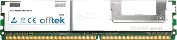 RS260-E4/RX8 Server 8GB Satz (2x4GB Module) - 240 Pin 1.8v DDR2 PC2-5300 ECC FB Dimm