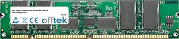 Professional Workstation AP400 350S1/400S1/450S1 256MB Modul - 168 Pin 3.3v PC100 ECC Registered SDRAM Dimm