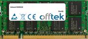 DHEX22 1GB Modul - 200 Pin 1.8v DDR2 PC2-4200 SoDimm