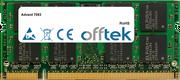7093 1GB Modul - 200 Pin 1.8v DDR2 PC2-4200 SoDimm