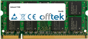 7106 1GB Modul - 200 Pin 1.8v DDR2 PC2-4200 SoDimm